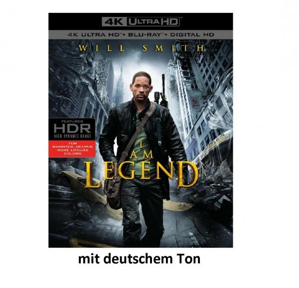 I Am Legend (4K Ultra HD+Blu Ray) Ton Deutsch (Will Smith)