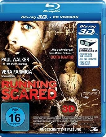 Running Scared - Ungeschnittene Fassung (3D+2D Blu-ray) Paul Walker