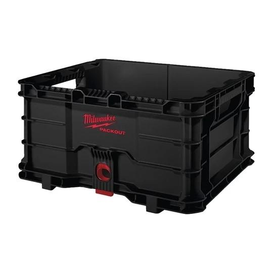 Milwaukee PACKOUT Transportbox / Kiste / stapelbar / bis 22kg Nutzlast