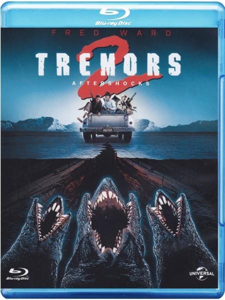 Tremors 2 - Die Rückkehr der Raketenwürmer (Blu-ray) Deutscher Ton