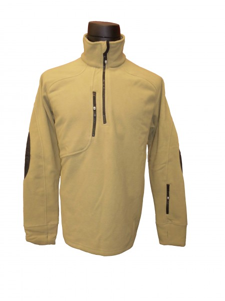 Fleece-Pullover FLL-769-54 sand/beige