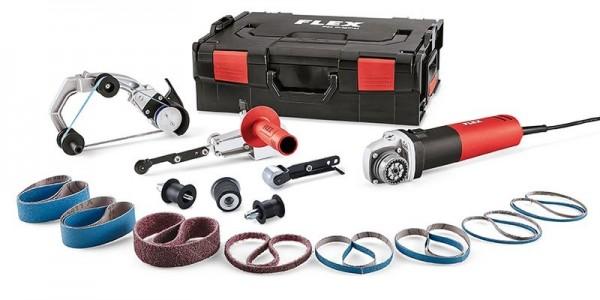 FLEX Rohrbandschleifer & Bandfeile BRE 8-4 INOX Set 230/CEE TRINOXFLEX