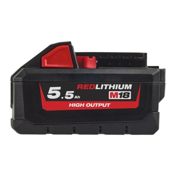Milwaukee M18HB5.5 High Output 18V / 5.5Ah Akku für alle M18 Geräte
