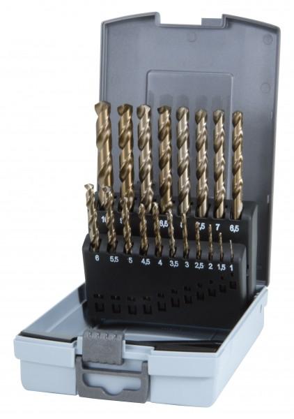 Ruko HSS-G Co5 Spiralbohrersatz 1-10mm 19tlg. i.Ro