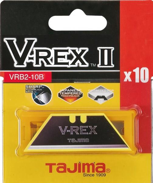 Tajima V-REX TRAPEZKLINGEN Box mit 10 Klingen SB-Karte