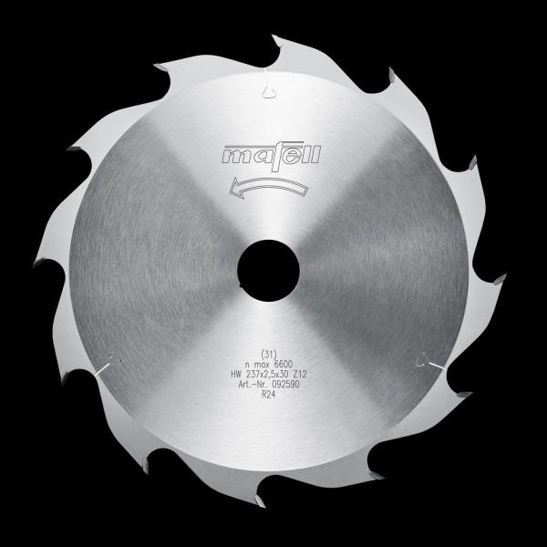 Mafell Sägeblatt-HM 237 x 1,8/2,5 x 30 mm, Z 12, W