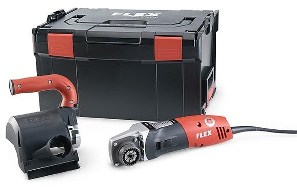 FLEX Bürstmaschine BBE 14-3 110 230/CEE im Koffer TRINOXFLEX