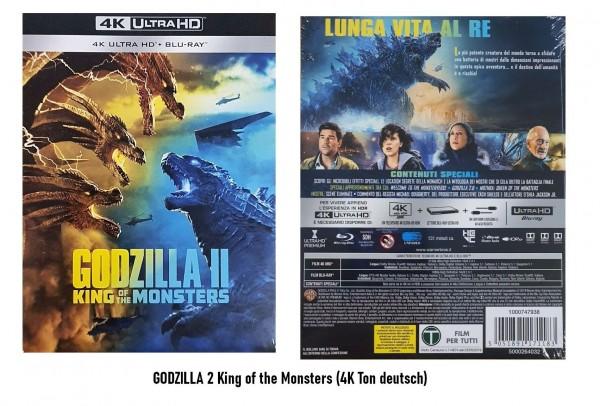 4K Blu-ray GODZILLA 2 (II) (4K Ton Deutsch)