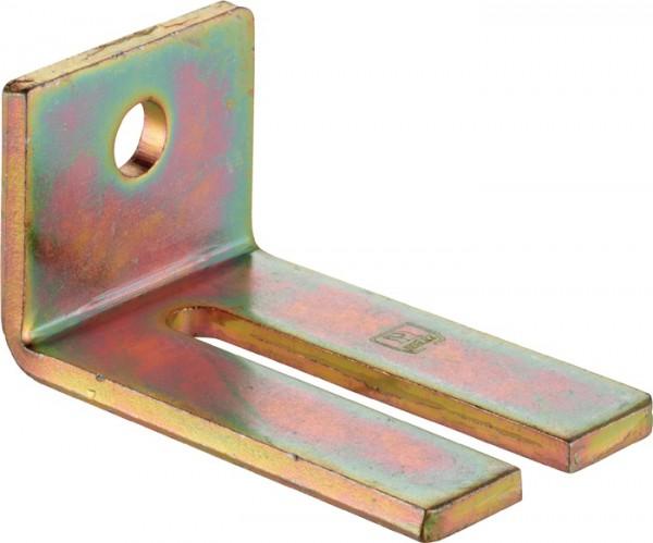 Winkelbefestigung 104 WD Profil 100 Stahl Stahl galvanisch verzinkt HELM