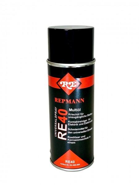 Universalspray RE40 400 ml Kriechöl/Kontaktreiniger/Rostlöser/Multiöl