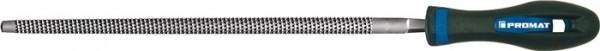 Holzraspel DIN 7263 E Länge 200 mm Querschnitt 8 mm Hieb 2 rund 2K-Ergo PROMAT