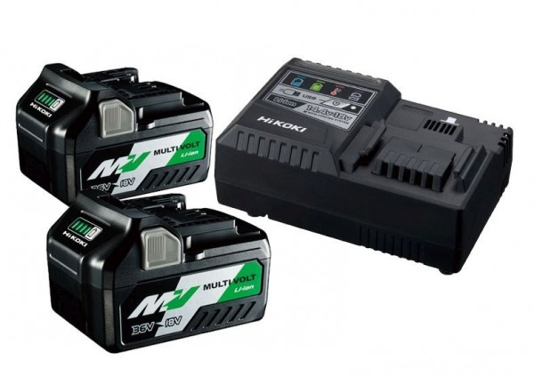 Hikoki BSL36A18x2 +UC18YSL3 36/18V Booster Pack 2,5/5,0Ah (2Akkus +Ladegerät)