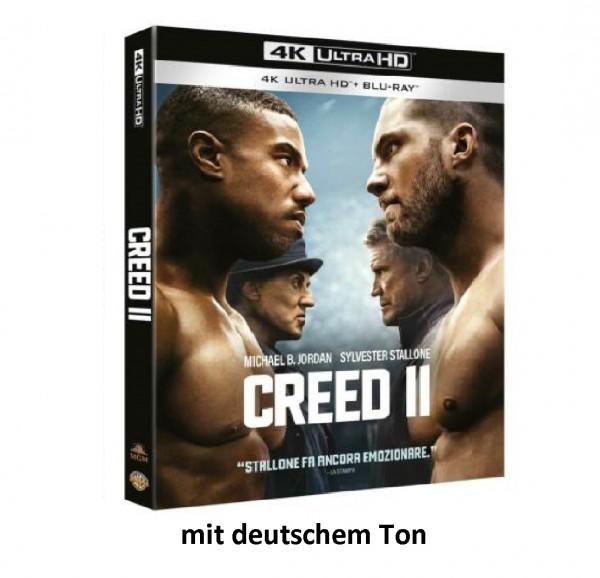 CREED II (4K Ultra HD+Blu Ray) Ton Deutsch (Sylvester Stallone,Michael B.Jordan)