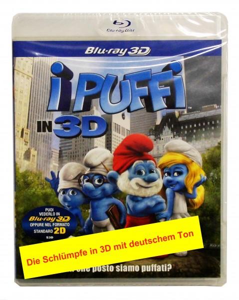 Die Schlümpfe (3D-Blu-ray) Deutscher Ton