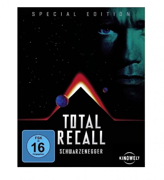 "TOTAL RECALL ""Special Edition Blu-ray"" (Arnold Schwarzenegger)"