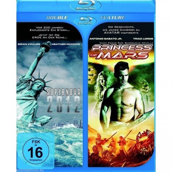 Doppel-BD: 2012 Supernova & Princess of Mars (Blu-ray)