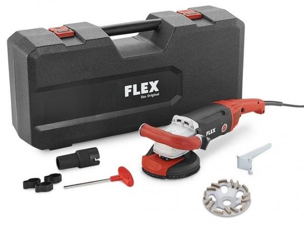 FLEX Kraftvoller 1800 Watt Sanierungsschleifer LD 18-7 125 R Kit TH-Jet