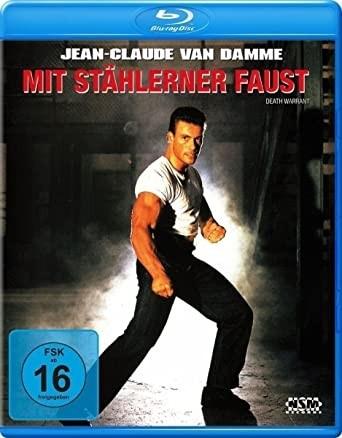 MIT STÄHLERNEN FAUST (Blu-ray) Jean-Claude van Damme -UNCUT-