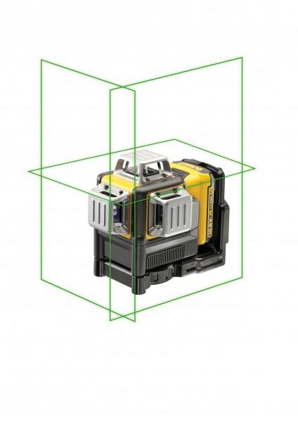 Dewalt DCE089D1G-QW Multilinienlaser 3x360°, gruen,10,8V/2,0Ah