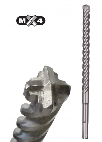 Milwaukee SDS-plus MX4 Hammerbohrer (4-Schneiden)