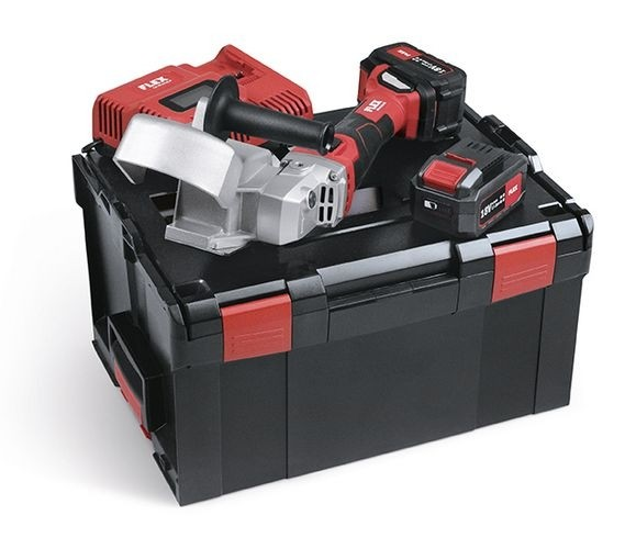FLEX Akku-Rinnenträger-Einlassfräse RFE 40 18.0-EC/5.0 Set L-Boxx 2xAkku 18V 5Ah