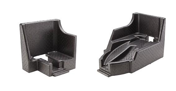 FLEX Einlage Transporttasche Kopf-/Griffaufnahme TBE-T/B G