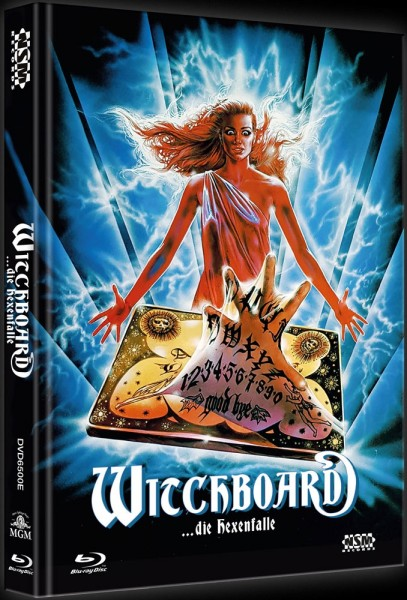 WITCHBOARD die Hexenfalle (Blu-ray+DVD) *Mediabook Limited 111 Edition* NSM