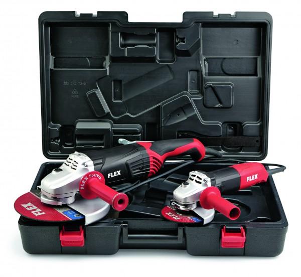 FLEX Winkelschleiferset L2100 & L1001 im Koffer