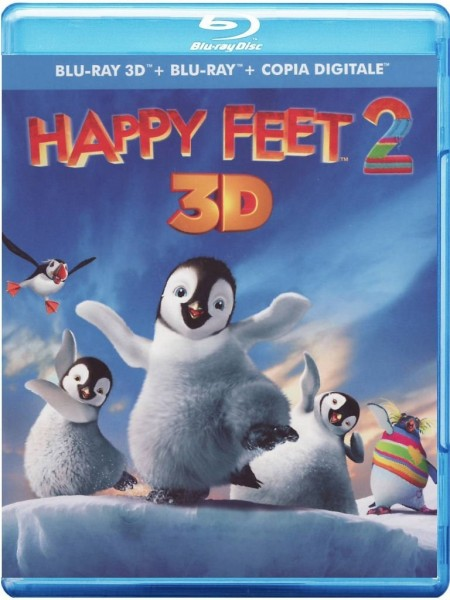 Happy Feet 2 (Blu-ray 3D+2D) Deutscher Ton 3D