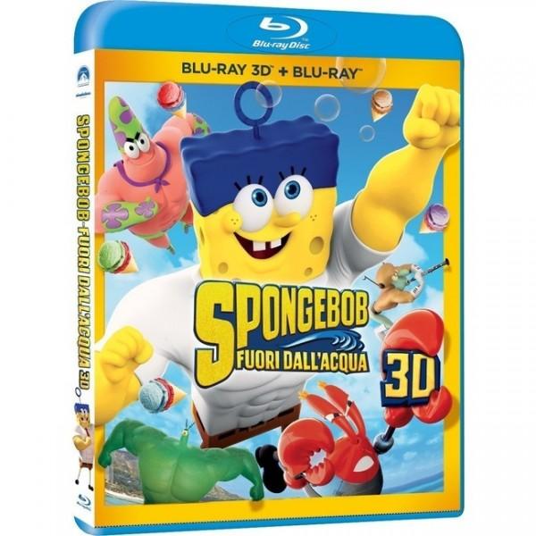 Spongebob: Schwamm aus dem Wasser (Blu-Ray 3D) Ital. (deutscher Ton)