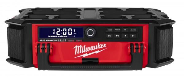 Milwaukee M18PRCDAB+-0 PackOut Netz-/Akku-Radio mit Ladefunktion