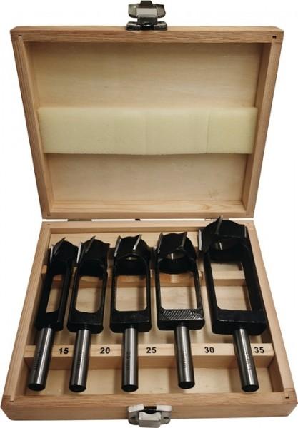 FISCH-Tools Scheibenschneidersatz 5-tlg 15/20/25/30/35 mm 13mm Schaft