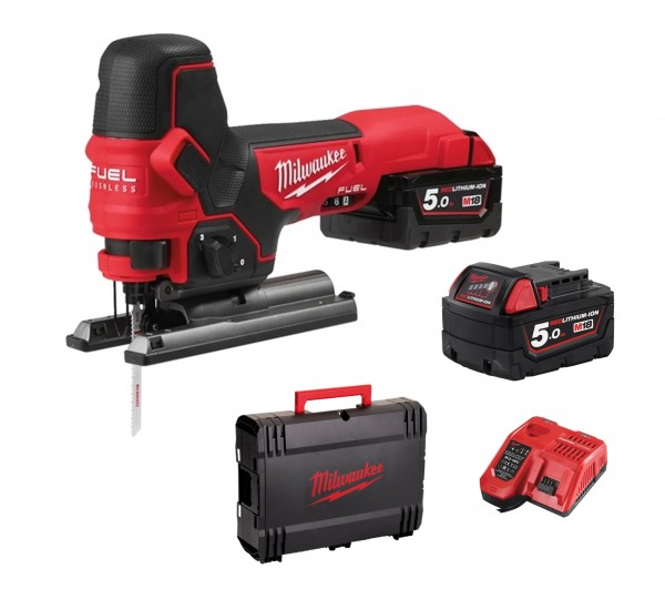 Milwaukee M18FBJS-502X FUEL Akku-Stichsäge 2x 5,0Ah