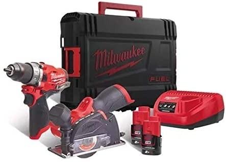 Milwaukee M12FPP2F-402X Akku-Combo-Kit (M12FPD+M12FCOT) 2xAkku 4,0Ah
