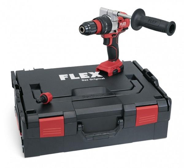 FLEX 18V Akku-Schlagbohrschrauber PD2G 18.0-EC Solo L-Boxx Bürstenlos