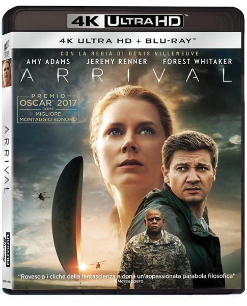 Arrival (4K Ultra HD+Blu-ray) Deutscher Ton