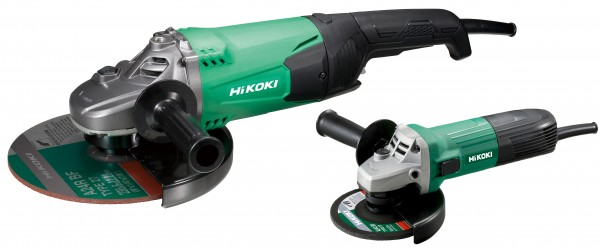 Hikoki G23STCPZ Winkelschleifer-Set 2.0 (G13STAYGZ+G23STWAZ)