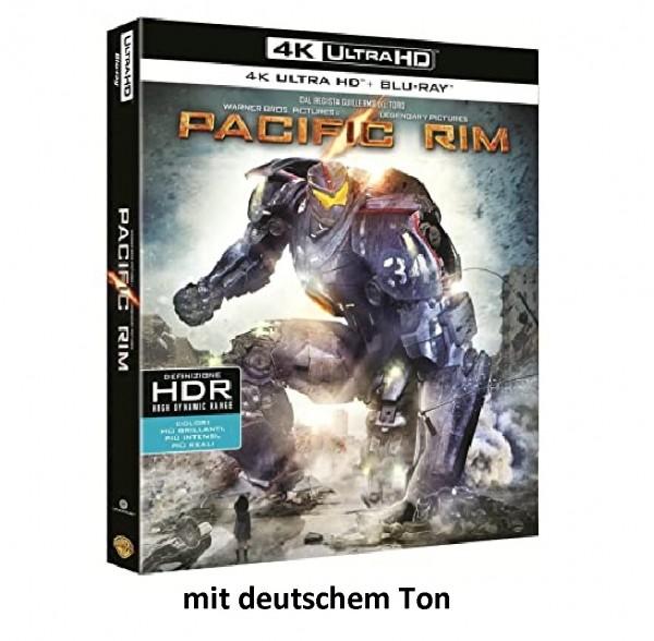 PACIFIC RIM (4K ULTRA HD+Blu-ray) 4K Ton Deutsch