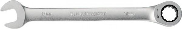 Maulringratschenschlüssel Schlüsselweite 9 mm Länge 143 mm gerade PROMAT
