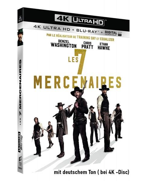 Die glorreichen Sieben (4K Ultra HD+Blu-ray) Deutscher Ton bei 4K