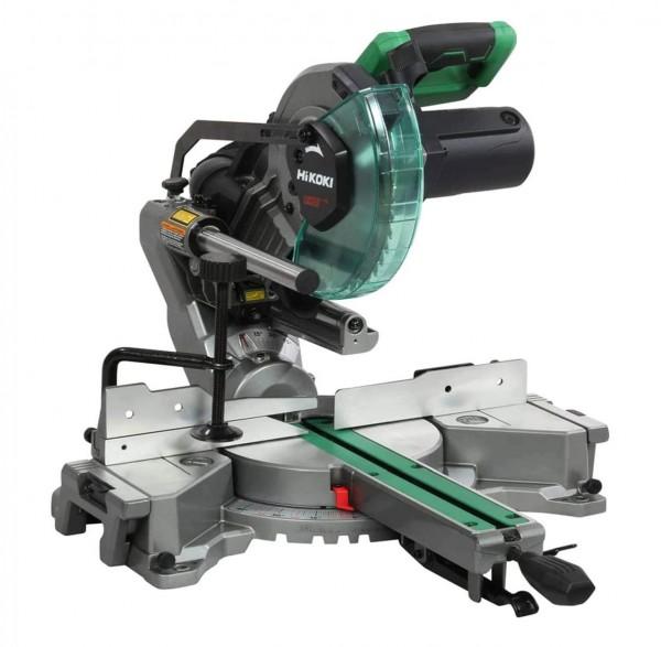 HiKOKI Paneelsäge C8FSHG (Kapp- Gehrungssäge)mit Schnittlinienlaser 1100W D.216mm