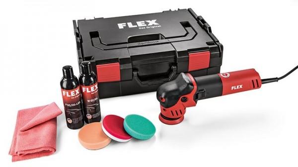 FLEX Exzenterpolierer für kleine Flächen XFE 7-12 80 P-Set