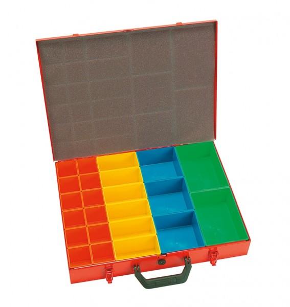 Sortimentskoffer mit 23 Boxen 440x330x66mm SK623