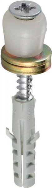 Führungsrolle 258 DÜ Stahl galvanisch verzinkt Kunststoffrolle HELM