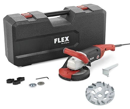 FLEX Kraftvoller 1800 Watt Sanierungsschleifer LD 18-7 150 R Kit TH-Jet