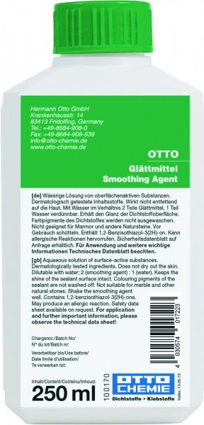 Otto-Chemie Glättmittel 250ml (für Silikon-, PU-, MS-Hybrid-Dichtstoffe)