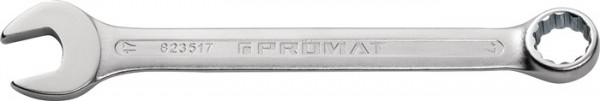 Ringmaulschlüssel SW 14 mm Länge 180 mm Form A CV-Stahl PROMAT