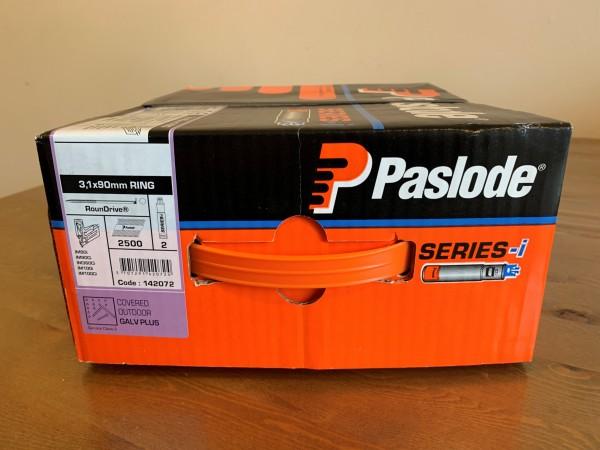 Paslode Pack IM90 3,1X90 RS Uni Galv+ (2500) Impulse Pack pap. Nägel IM90