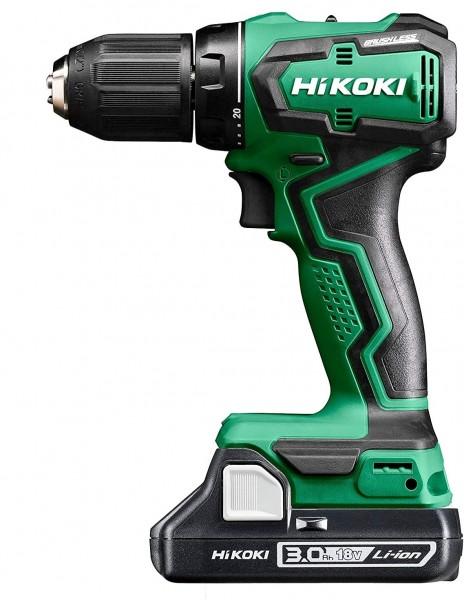 Hikoki DS18DD(3.0L) (HSC II) Akku-Bohrschrauber 18V 2x3.0Ah Brushless 55Nm