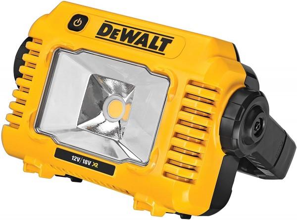 DeWalt DCL077-XJ Akku-LED-Baustellenstrahler/-Leuchte 10,8V-54V f. Schiebeakkus